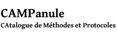 Catalogue de méthodes et protocoles